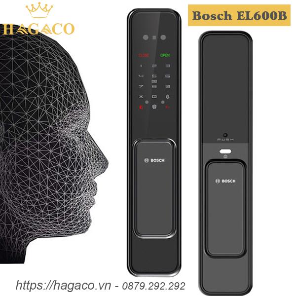 Khóa cửa nhận diện khuôn mặt Bosch EL600B màu đen