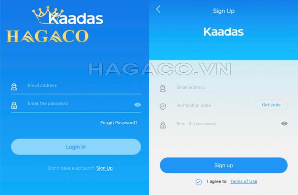 Hướng dẫn đăng ký app Bluetooth cho khóa Kaadas