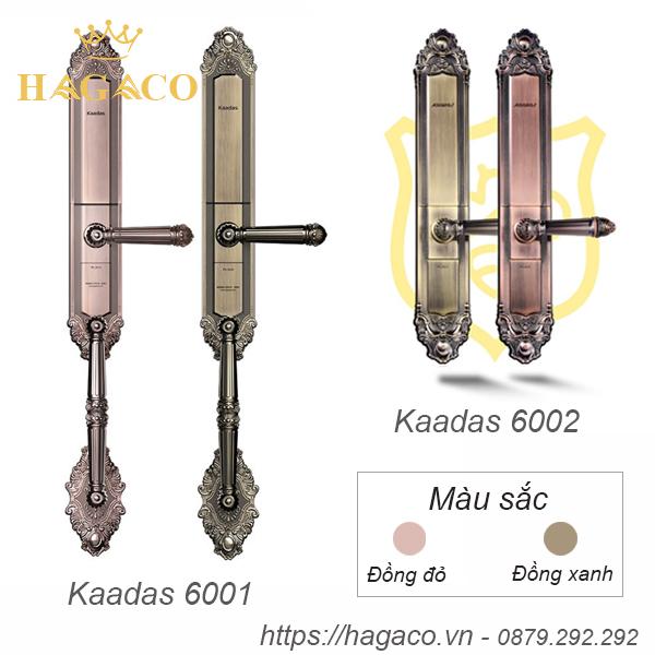 Khóa cửa đại sảnh Kaadas 6001 và 6002 có thiết kế với kiểu dáng cổ điển