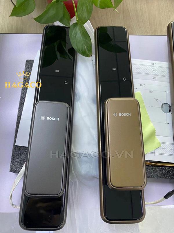 Khóa cửa vân tay Bosch EL600 màu đen và màu đồng