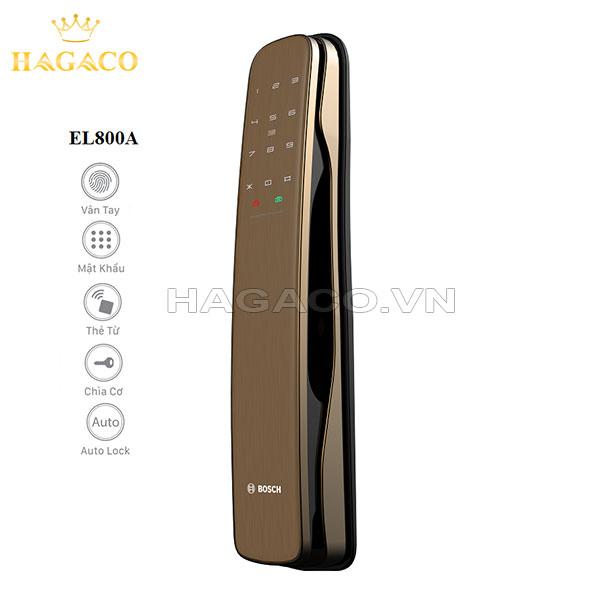 Các tính năng của khóa Bosch EL800A Gold