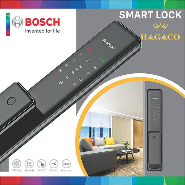Khóa cửa vân tay Bosch FU780 màu đen