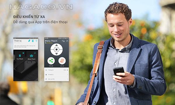 Dễ dàng điều khiển khóa điện tử Kassler từ xa với ứng dụng cài đặt trên điện thoại