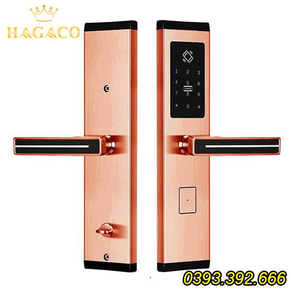 Khóa cửa điện tử Kassler KL-667 Copper