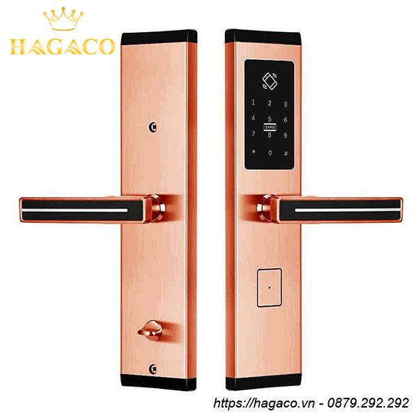 Khóa cửa điện tử Kassler KL-667 Copper Màu đồng