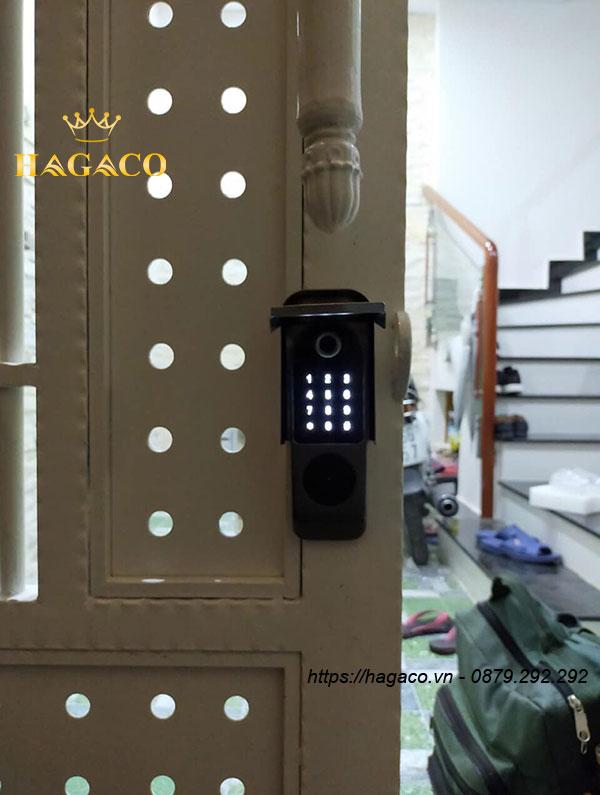 Khóa Kassler KL-579 vận hành bằng khóa cơ, vân tay, thẻ từ, mật mã, APP Bluetooth