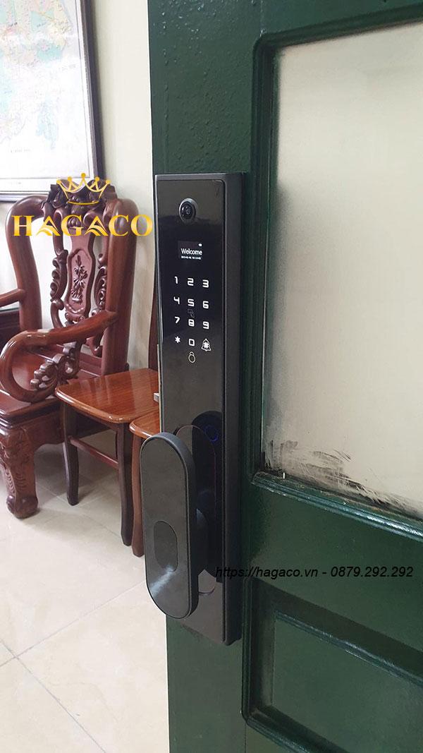 Lắp đặt khóa vân tay Kassler KL-890 cho cửa gỗ