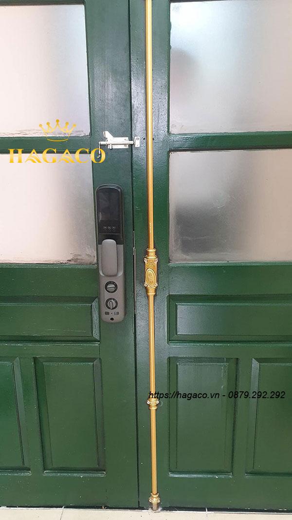 Mặt trong khóa vân tay Kassler KL-890 cho cửa gỗ