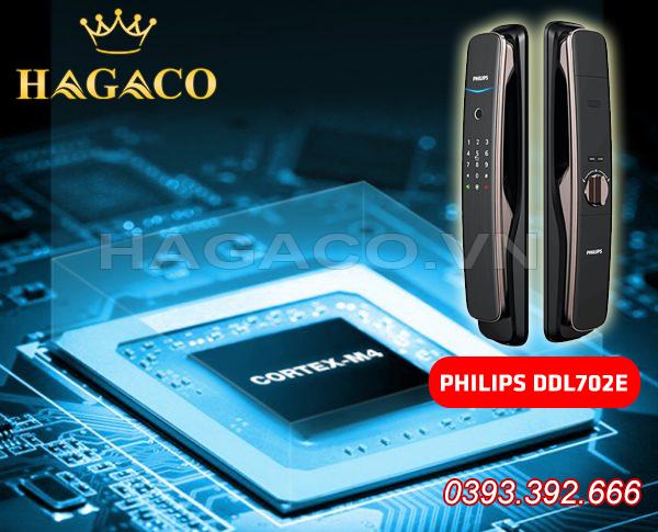 Khóa điện tử Philips DDL702E sử dụng bo mạch CORTEX-M4 thế hệ mới