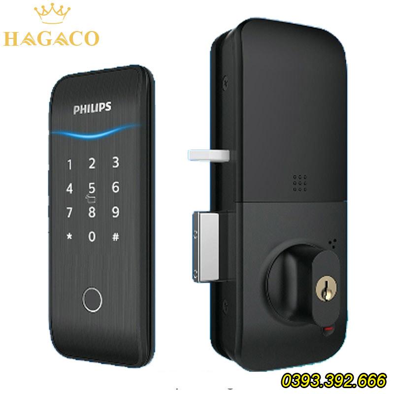 khóa cửa điện tử Philips 5100-5HBKS
