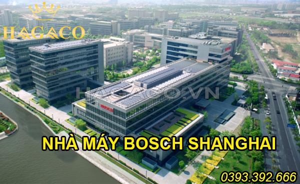 Khóa điện tử Bosch được sản xuất tại nhà máy Bosch Shanghai