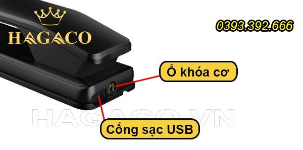Cách mở khóa điện tử khi hết pin đột ngột