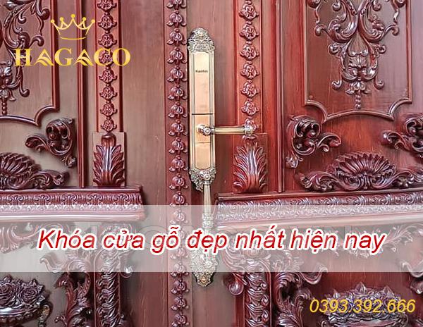 Khóa cửa gỗ đẹp nhất hiện nay