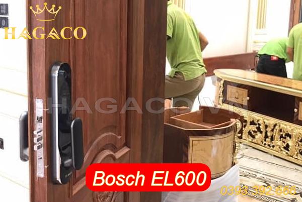 Khóa điện tử Bosch EL600 lắp cho cửa gỗ