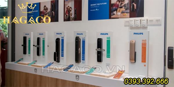 Showroom khóa điện tử Philips