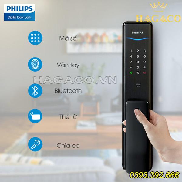 Các tính năng của khóa điện tử Philips