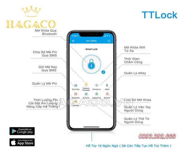 Sử dụng APP TTLock để điều khiển khóa Bluetooth SSLock