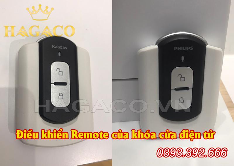 Điều khiển Remote của khóa cửa điện tử