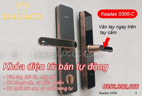 Khóa vân tay Kaadas S500-C giá rẻ