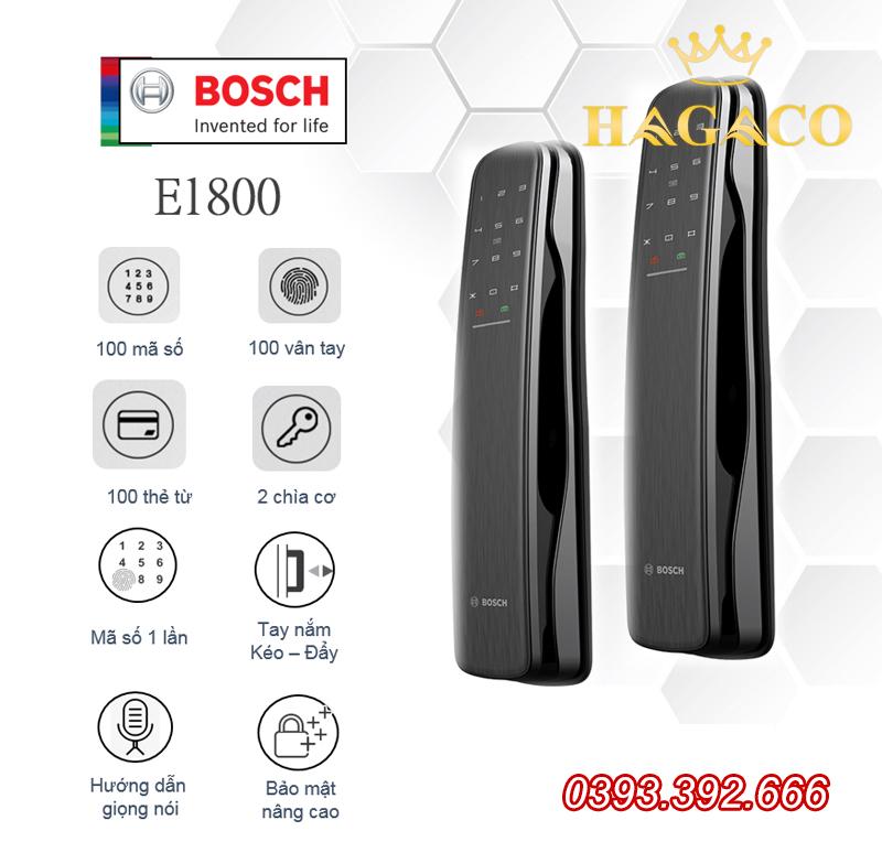 Khóa điện tử cao cấp Bosch EL600A