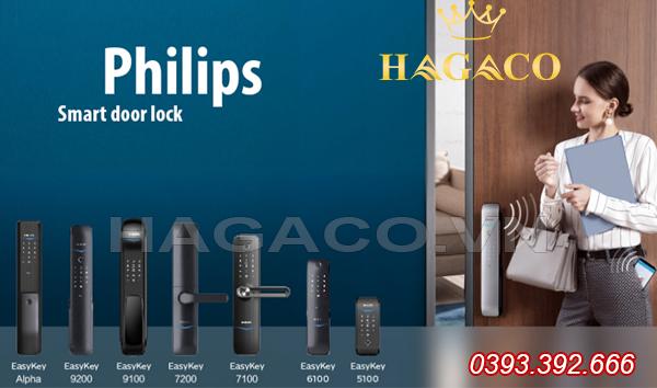 Các sản phẩm khóa điện tử Philips
