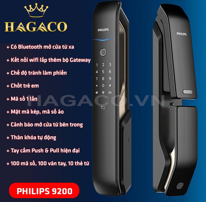 Khóa điện tử Philips 9200
