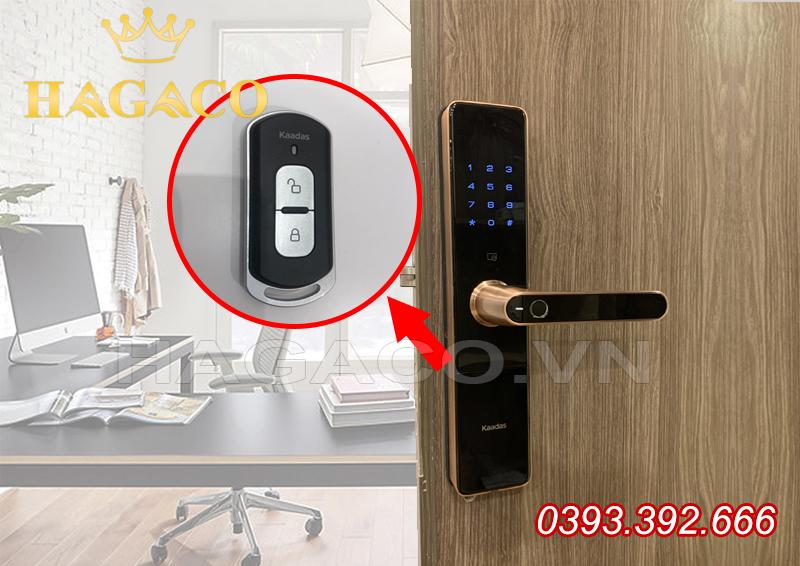 Khóa điện tử Remote thích hợp với văn phòng giám đốc