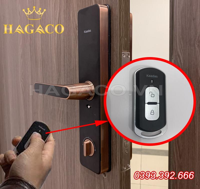 Khóa điện tử Kaadas có điều khiển Remote