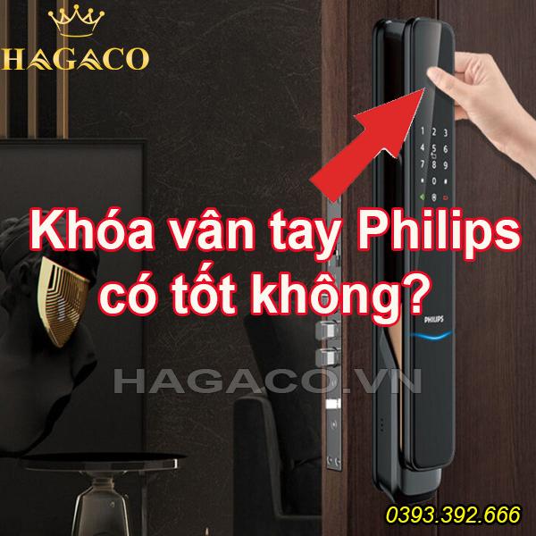Khoá vân tay Philips có tốt không?