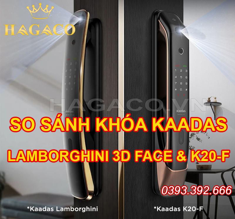 So sánh hai mẫu khóa nhận diện khuôn mặt của Kaadas