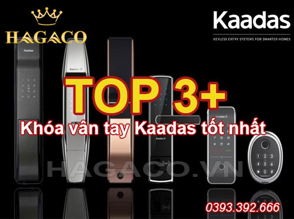 Top 3+ khóa vân tay Kaadas tốt nhất
