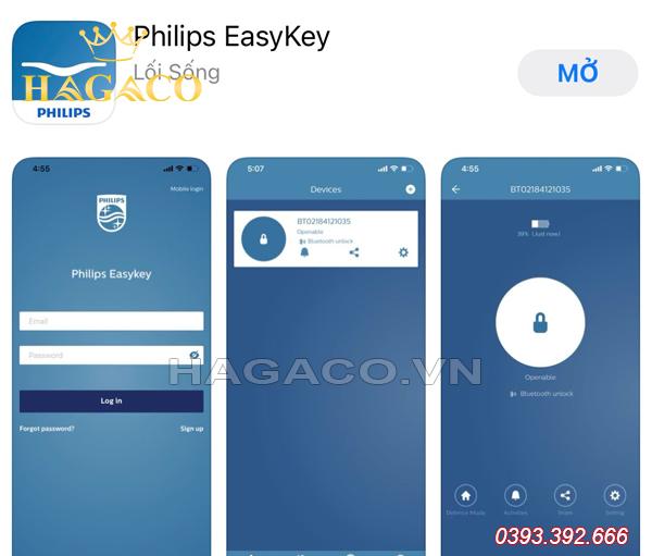 APP Philips EasyKey