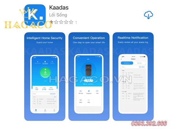 Tải APP Kaadas về điện thoại