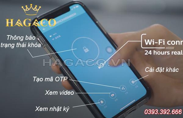 Các tính năng của khóa Wifi Philips DDL702-1HW