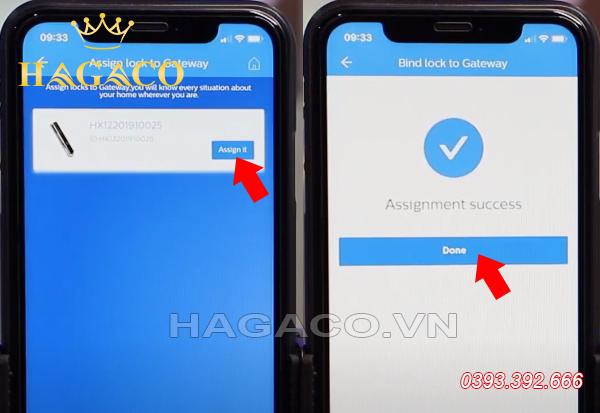 Chọn thiết bị kết nối với Gateway