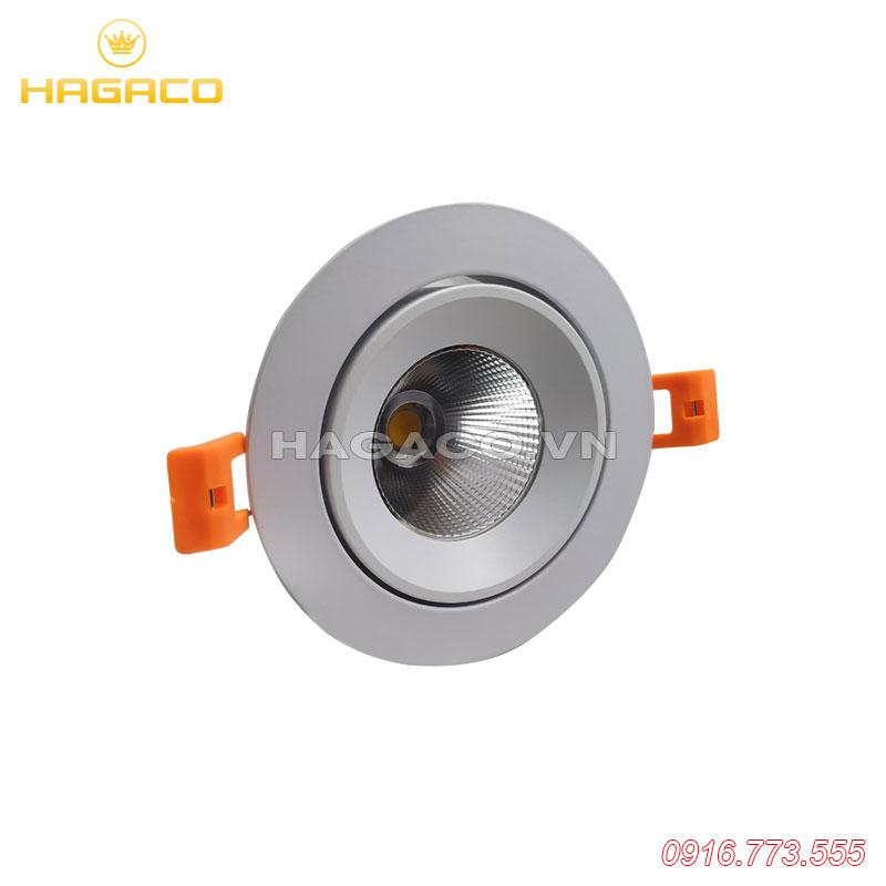 Đèn led spotlight tròn mặt phẳng Plus