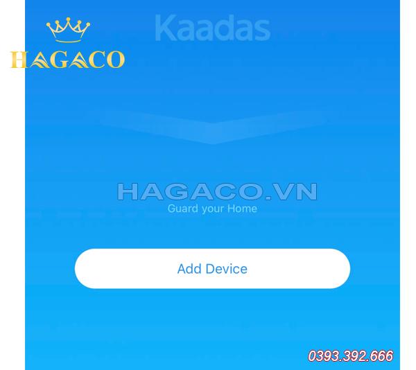Kết nối APP Kaadas với khóa điện tử