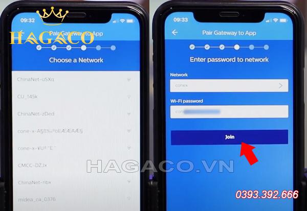 Kết nối Wifi cho thiết bị Gateway