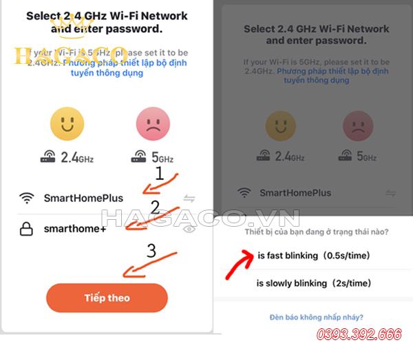 Hướng dẫn kết nối APP Tuya Smart với mạng Wifi