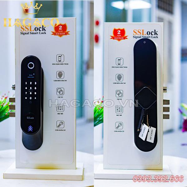 Khóa cửa vân tay SSlock E301-FACP (có wifi)