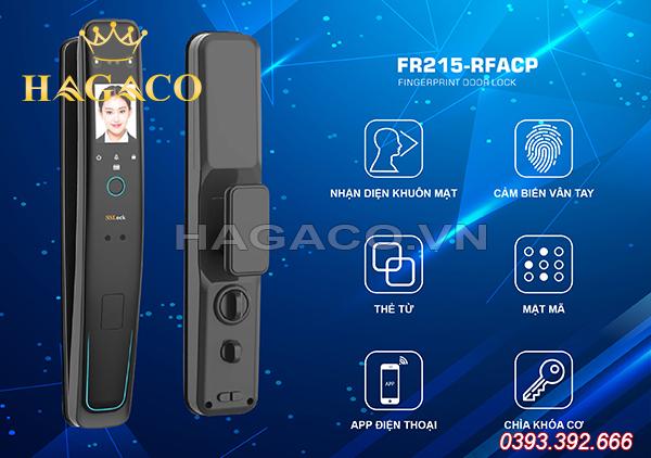 Khóa điện tử face ID SSLock FR215