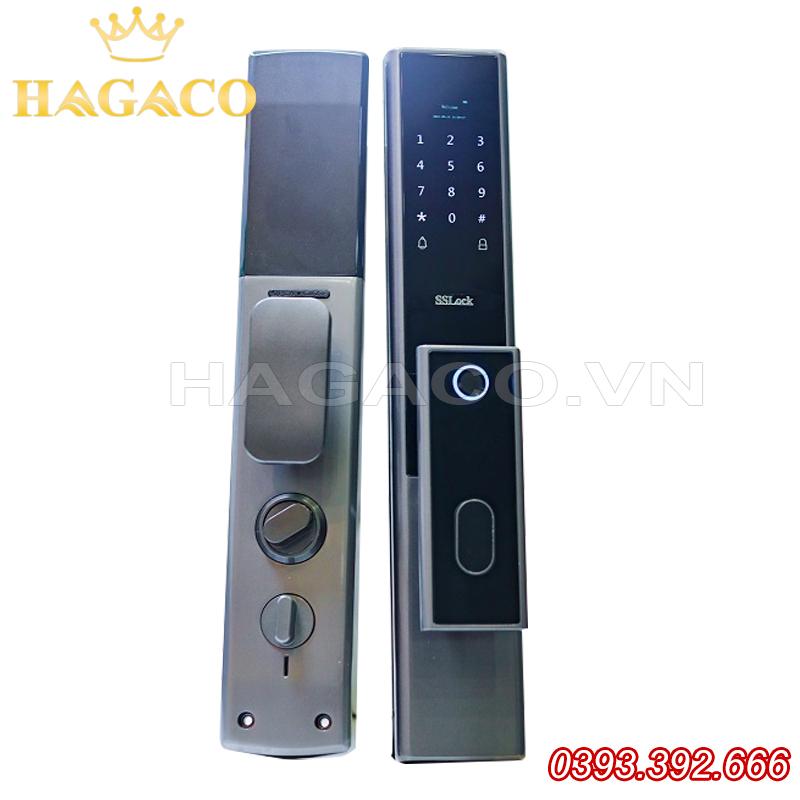 Khóa cửa vân tay SSLock E102-FACP (có wifi)