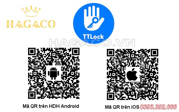 Mã QR tải APP TTLock