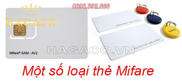 Một số loại thẻ Mifare